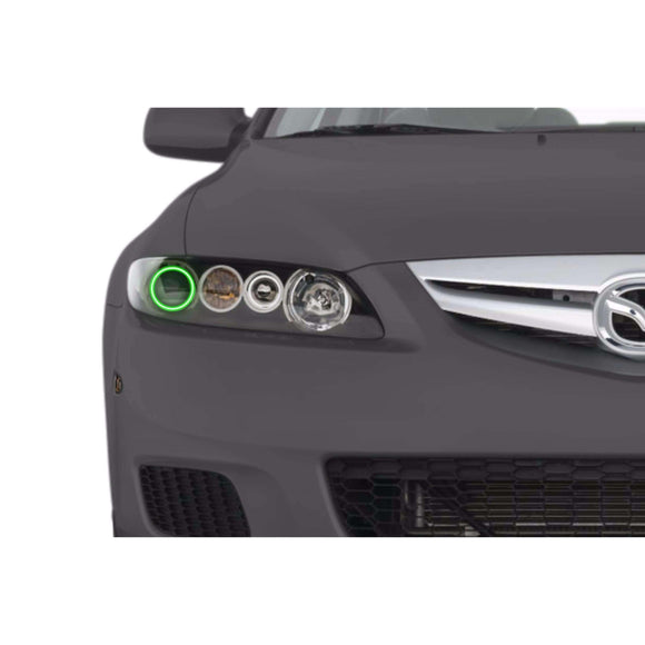 2003-2008 Mazda 6 Profile Prism (formerly ColorMorph) Halo Headlight Kits by LED Concepts™