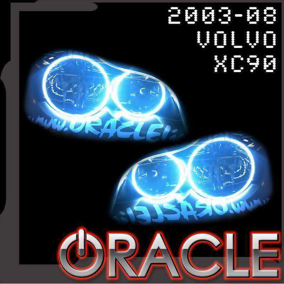 2003-2008 Volvo XC90 LED Headlight Halo Kit by Oracle™