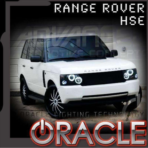 2003-2009 Land Rover Range Rover HSE ColorSHIFT LED Headlight Halo Kit by Oracle™