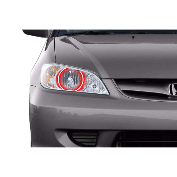 2004-2005 Honda Civic Profile Prism (formerly ColorMorph) Halo Headlight Kits by LED Concepts™