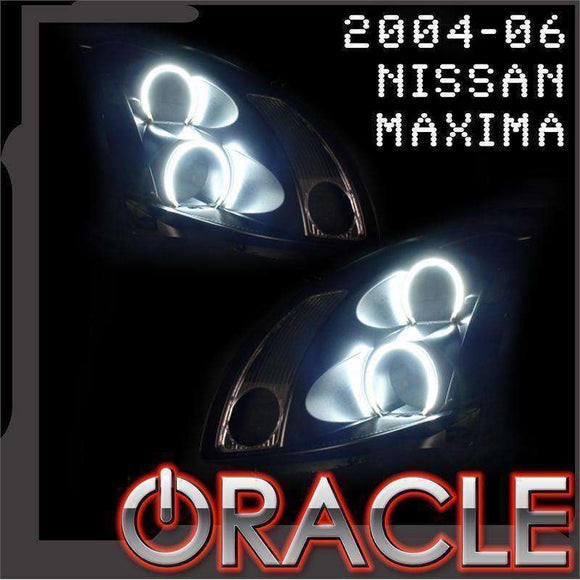 2004-2006 Nissan Maxima ColorSHIFT LED Headlight Halo Kit by Oracle™