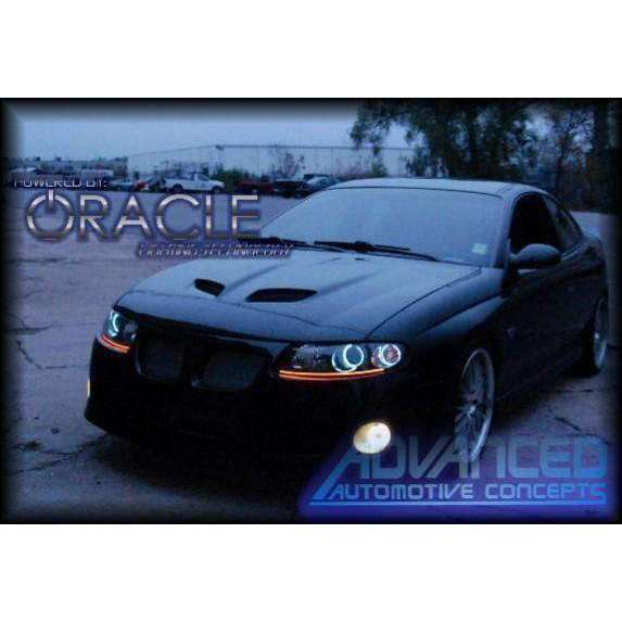 2004-2006 Pontiac GTO LED Fog Light Halo Kit by Oracle™