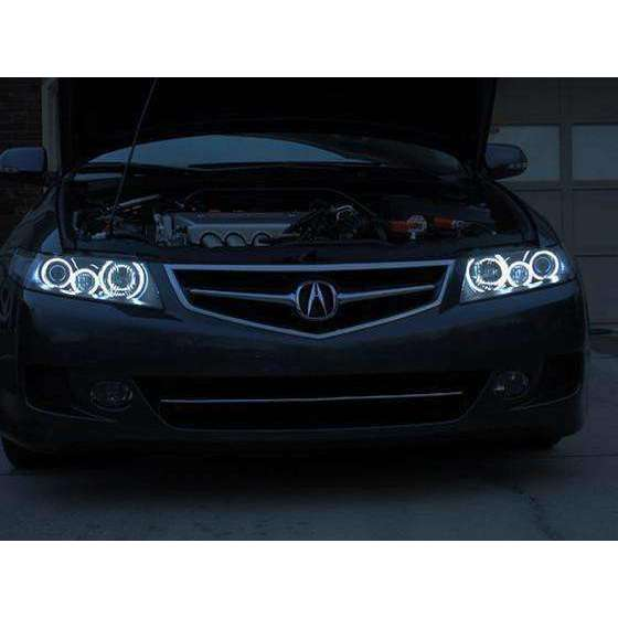 2004-2007 Acura TSX ColorSHIFT LED Headlight Halo Kit by Oracle™