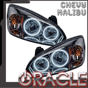 2004-2007 Chevrolet Malibu LED Pre-Assembled Oracle™ Halo Headlights