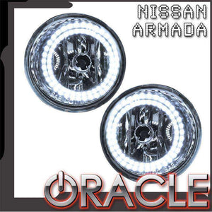 2004-2007 Nissan Armada ColorSHIFT LED Pre-Assembled Halo Fog Lights by Oracle™