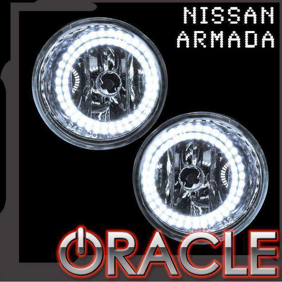 2004-2007 Nissan Armada LED Fog Light Halo Kit by Oracle™