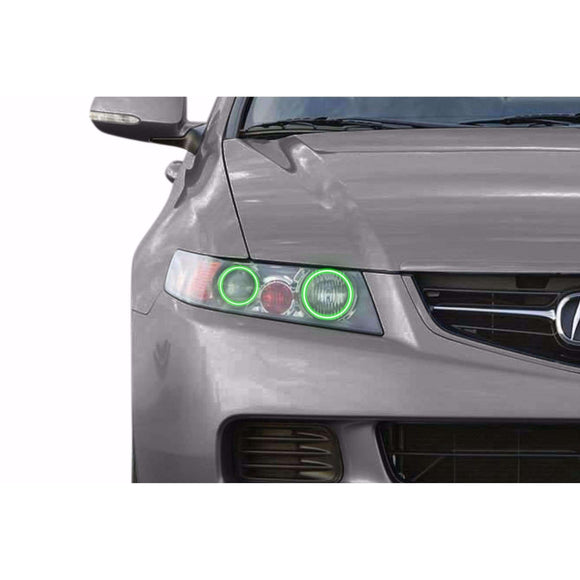 2004-2008 Acura TSX Profile Prism (formerly ColorMorph) Halo Headlight Kits by LED Concepts™