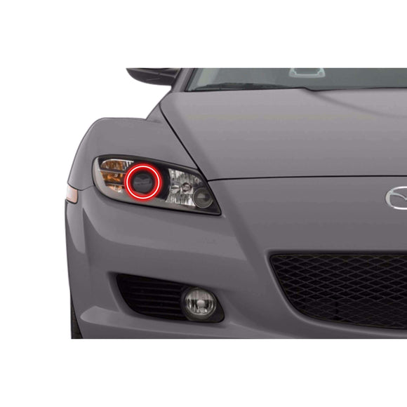2004-2008 Mazda RX-8 Profile Prism (formerly ColorMorph) Halo Headlight Kits by LED Concepts™