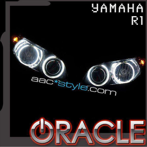2004-2008 Yamaha R1 ColorSHIFT LED Headlight Halo Kit by Oracle™