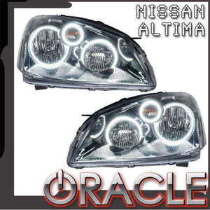 2005-2006 Nissan Altima LED Pre-Assembled Oracle™ Halo Headlights