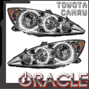 2005-2006 Toyota Camry LED Pre-Assembled Oracle™ Halo Headlights