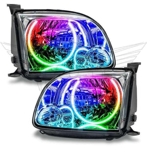 2005-2006 Toyota Tundra Single Cab ColorSHIFT LED Pre-Assembled Oracle™ Halo Headlights