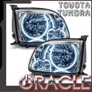 2005-2006 Toyota Tundra Single Cab LED Pre-Assembled Oracle™ Halo Headlights