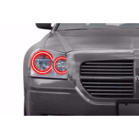 2005-2007 Dodge Magnum Profile Prism (formerly ColorMorph) Halo Headlight Kits by LED Concepts™