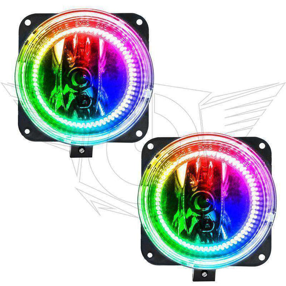 2005-2007 Ford Escape ColorSHIFT LED Pre-Assembled Halo Fog Lights by Oracle™
