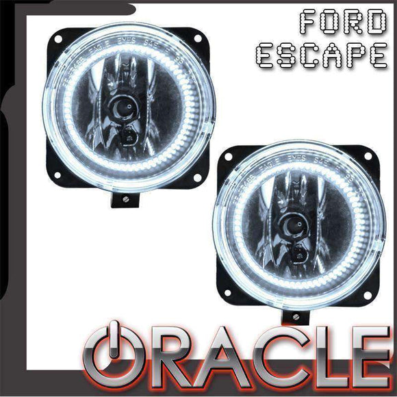 2005-2007 Ford Escape LED Pre-Assembled Halo Fog Lights by Oracle™