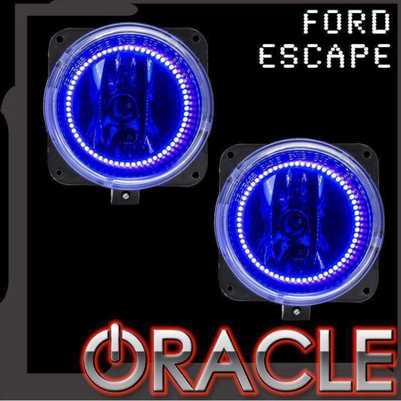 2005-2007 Ford Escape Plasma Fog Light Halo Kit by Oracle™