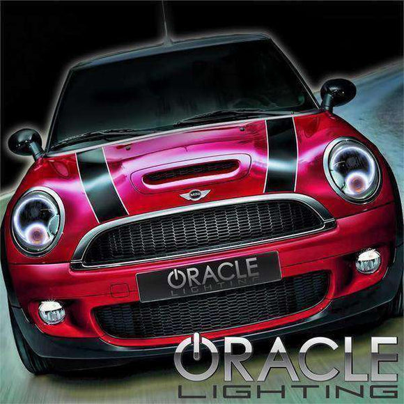 2005-2008 Mini Cooper LED Headlight Halo Kit by Oracle™