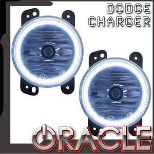 2005-2009 Dodge Charger Plasma Pre-Assembled Halo Fog Lights by Oracle™
