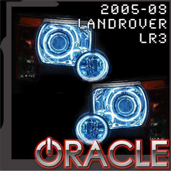 2005-2009 Land Rover LR3 ColorSHIFT LED Headlight Halo Kit by Oracle™