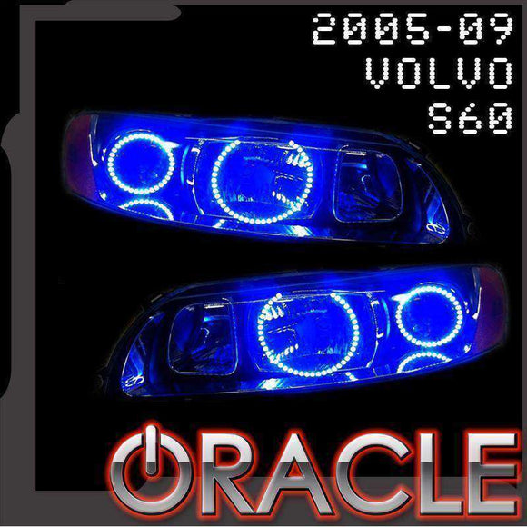 2005-2009 Volvo S60 ColorSHIFT LED Headlight Halo Kit by Oracle™