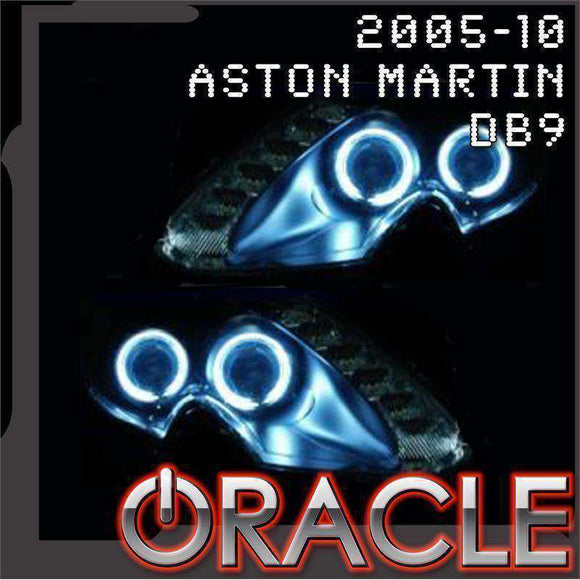 2005-2010 Aston Martin DB9 ColorSHIFT LED Headlight Halo Kit by Oracle™