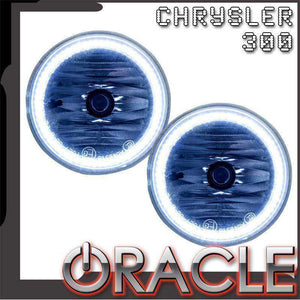 2005-2010 Chrysler 300 Plasma Pre-Assembled Halo Fog Lights by Oracle™