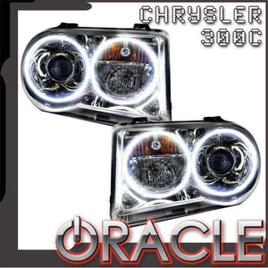 2005-2010 Chrysler 300C HID LED Pre-Assembled Oracle™ Halo Headlights