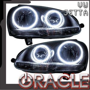 2005-2010 Volkswagen Jetta LED Pre-Assembled Oracle™ Halo Headlights