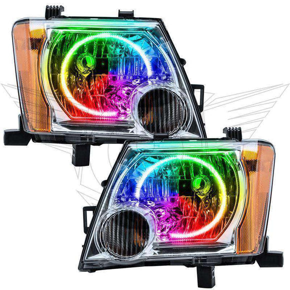 2005-2014 Nissan Xterra ColorSHIFT LED Headlight Halo Kit by Oracle™