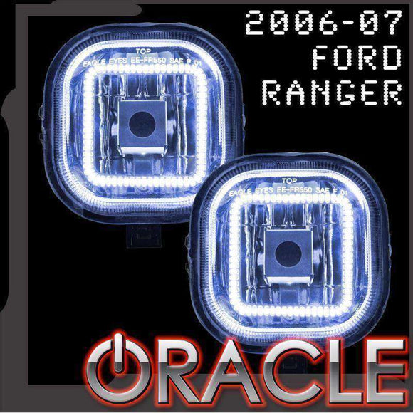 2006-2007 Ford Ranger LED Fog Light Halo Kit by Oracle™