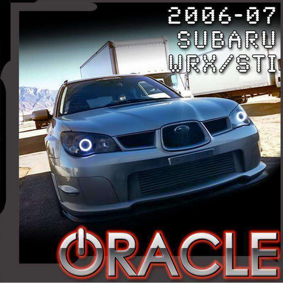 2006-2007 Subaru WRX/STi ColorSHIFT LED Headlight Halo Kit by Oracle™