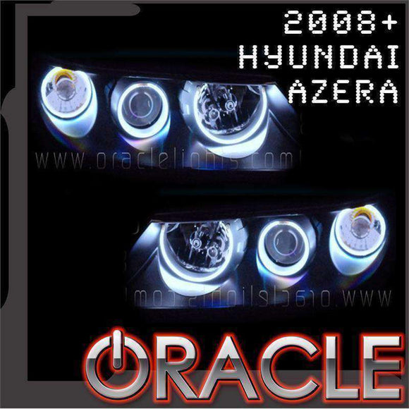 2006-2009 Hyundai Azera LED Headlight Halo Kit by Oracle™