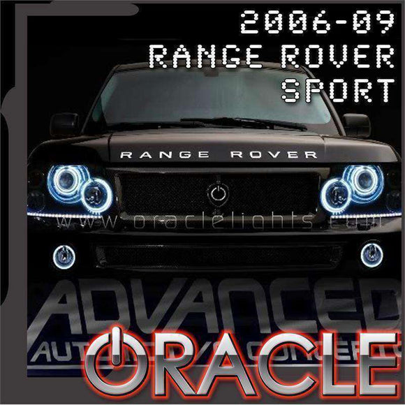2006-2009 Range Rover Sport LED Headlight Halo Kit by Oracle™