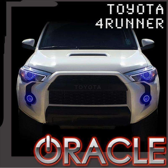 2006-2009 Toyota 4Runner Non-HID Plasma Pre-Assembled Headlight Halo Kit by Oracle™