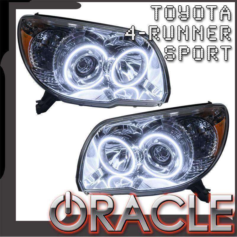Toyota 4Runner Halo Headlights: Premium Halo Lights (Mega Sale!)