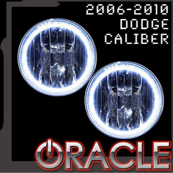 2006-2010 Dodge Caliber Plasma Fog Light Halo Kit by Oracle™