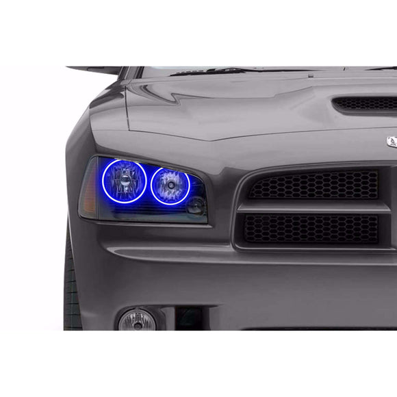2006-2010 Dodge Charger Profile Prism (formerly ColorMorph) Halo Headlight Kits by LED Concepts™