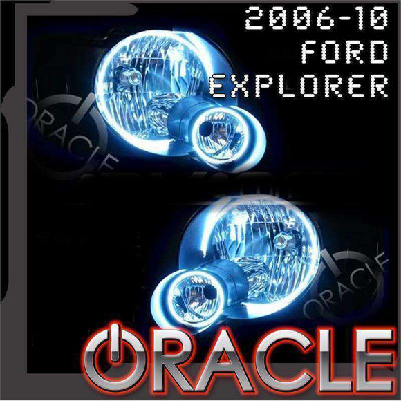 2006-2010 Ford Explorer LED Headlight Halo Kit by Oracle™