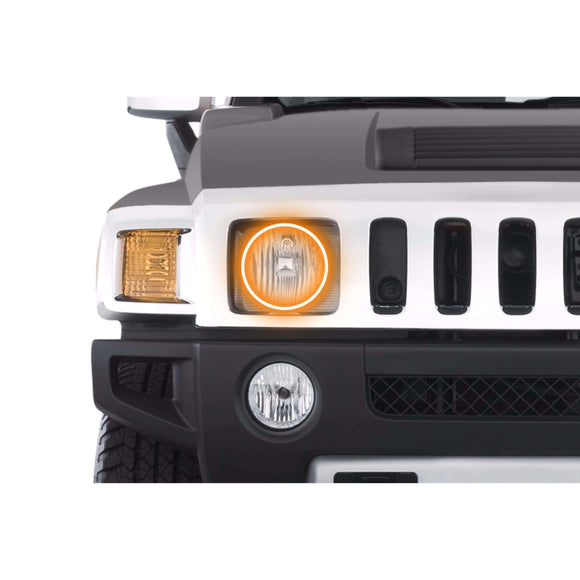2006-2010 Hummer H3 Profile Prism (formerly ColorMorph) Halo Headlight Kits by LED Concepts™