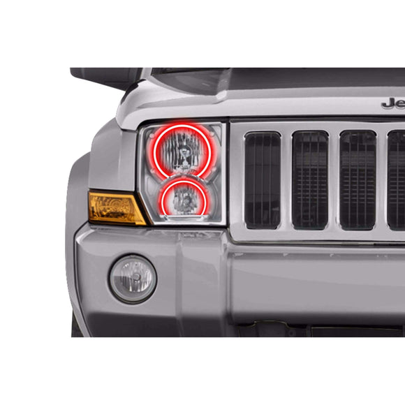 2006-2010 Jeep Commander Profile Prism (formerly ColorMorph) Halo Headlight Kits by LED Concepts™