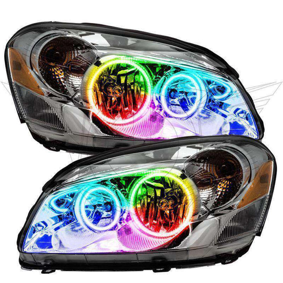 2006-2011 Buick Lucerne ColorSHIFT LED Headlight Halo Kit by Oracle™