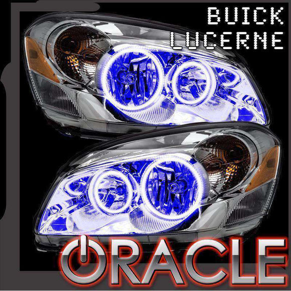 2006-2011 Buick Lucerne LED Headlight Halo Kit by Oracle™