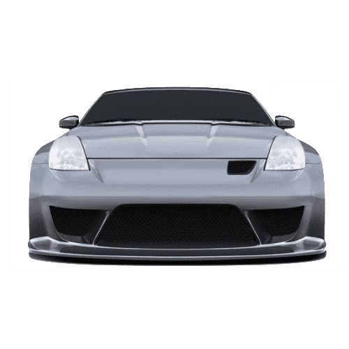 2006-2011 Nissan 350Z ColorSHIFT LED Headlight Halo Kit by Oracle™
