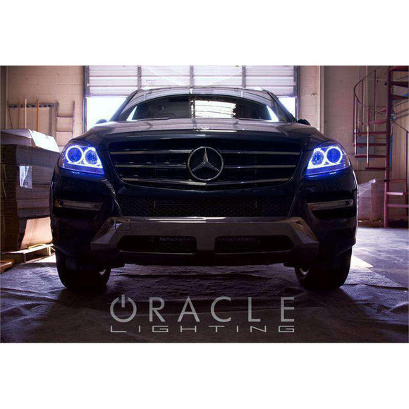 2006-2012 Mercedes-Benz ML 350/500 LED Headlight Halo Kit by Oracle™