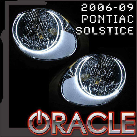 2006-2009 Pontiac Solstice LED Headlight Halo Kit by Oracle™