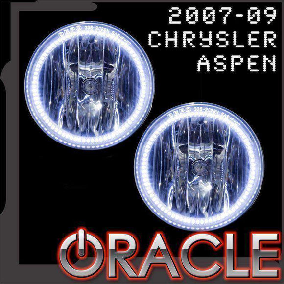 2007-2009 Chrysler Aspen LED Fog Light Halo Kit by Oracle™
