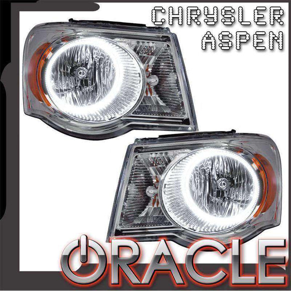 2007-2009 Chrysler Aspen LED Pre-Assembled Oracle™ Halo Headlights