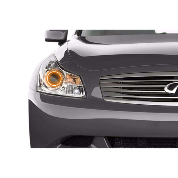 2007-2009 Infiniti G37 Sedan Profile Prism (formerly ColorMorph) Halo Headlight Kits by LED Concepts™