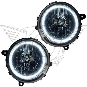 2007-2010 Jeep Compass LED Pre-Assembled Oracle™ Halo Headlights